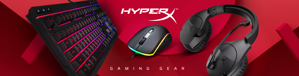 HyperX gaming gear