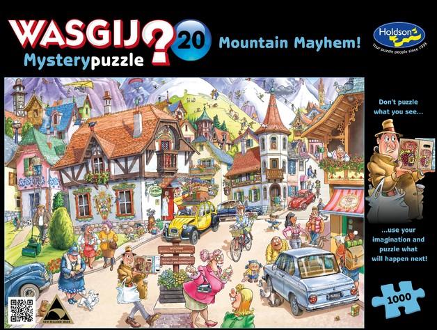 Wasgij: 1000 Piece Puzzle - Mystery #20 (Mountain Mayhem)