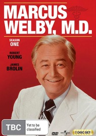 Marcus Welby MD - Season One (7 Disc Box Set) on DVD