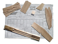 West Wings Free Flight Aircraft Kit - Merlin (glider) image