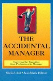 Accidental Manager by Sheila Udall image