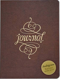 Ambigram Leather Journal (Large)