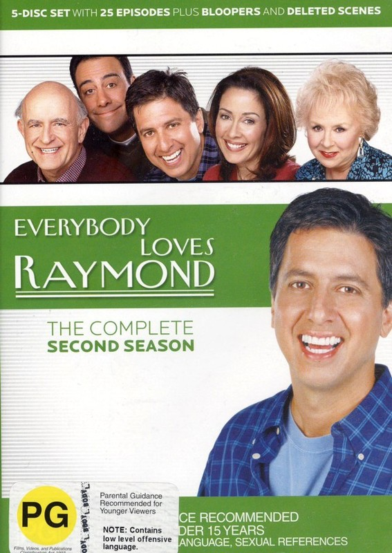 Everybody Loves Raymond - The Complete Second Season (5 Disc Box Set) on DVD