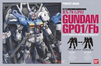 PG 1/60 RX-78 Gundam GP01/Fb - Model Kit