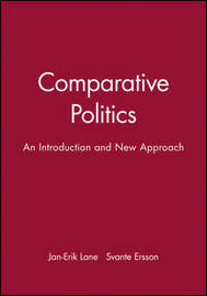 Comparative Politics by Jan-Erik Lane image