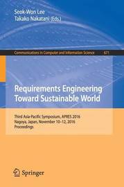 Requirements Engineering Toward Sustainable World