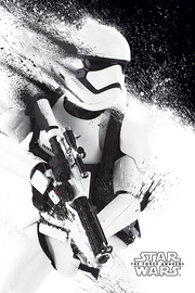 Star Wars Episode VII - Stormtrooper Paint Maxi Poster (588)