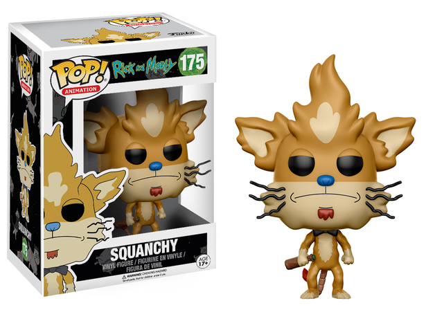 Rick & Morty – Squanchy Pop! Vinyl Figure