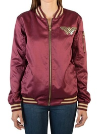 Wonder Woman Logo - Bomber Jacket (Large)