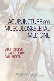 Acupuncture for Musculoskeletal Medicine by Grant Cooper image