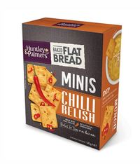 Huntley & Palmers Flat Bread Minis - Chilli Relish (140g)
