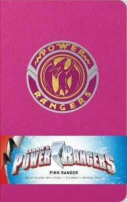 Power Rangers: Pink Ranger Hardcover Ruled Journal by Insight Editions image