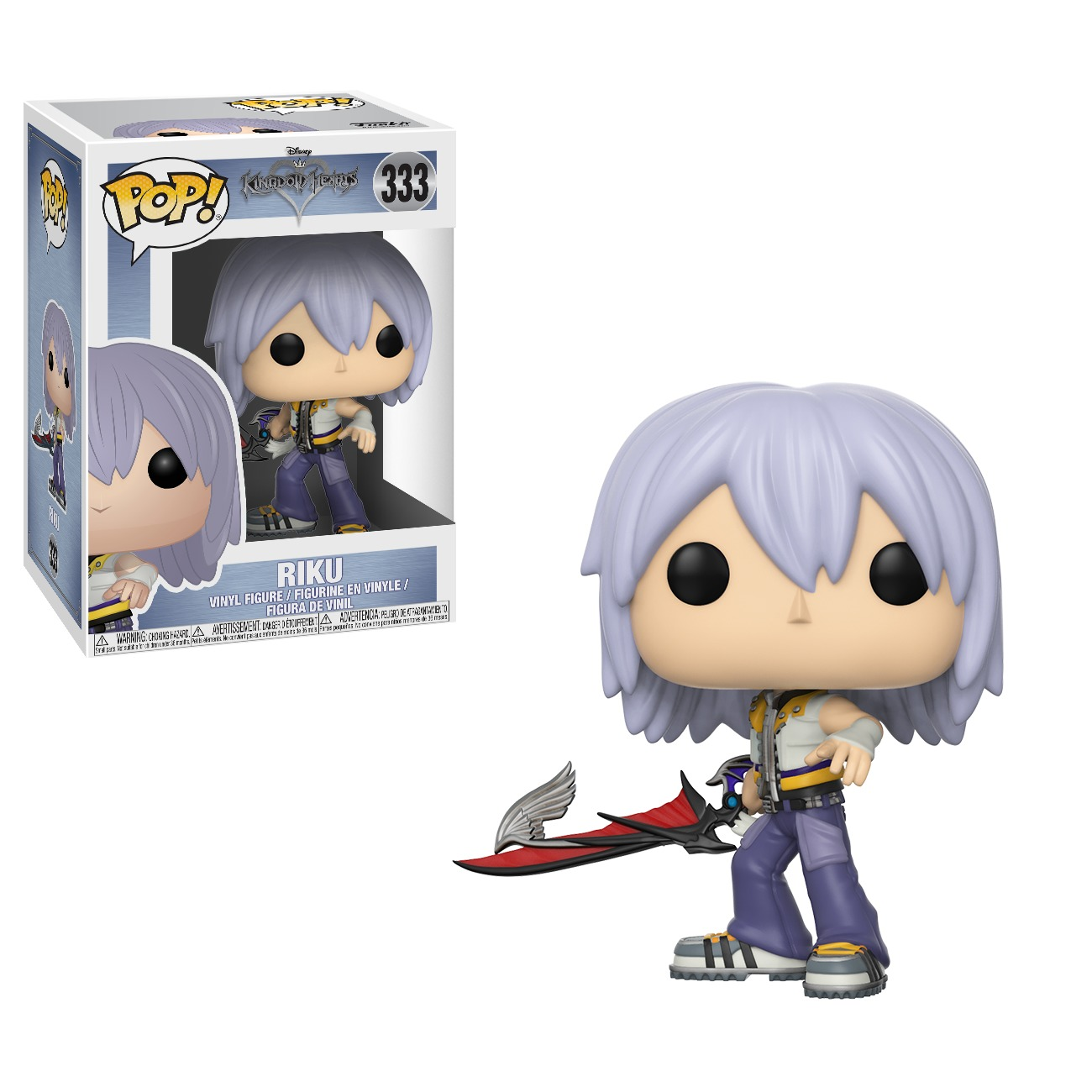 Kingdom Hearts - Riku Pop! Vinyl Figure image