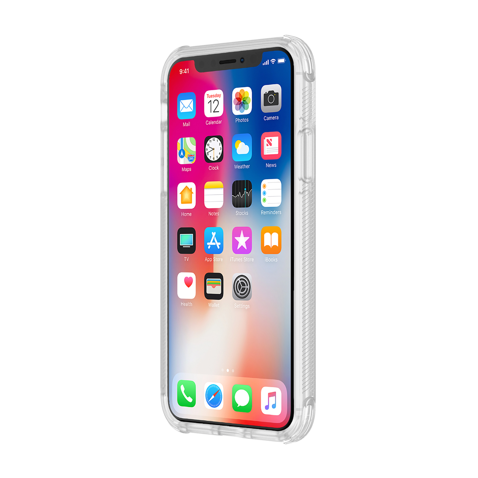 check out cc3bb 625cf Incipio Reprieve [Sport] Case for iPhone X/XS - Clear/Clear