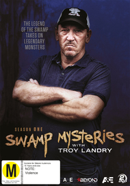 Swamp Mysteries with Troy Landry on DVD