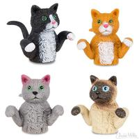 Archie McPhee: Finger Cats - Finger Puppet (Assorted Designs)