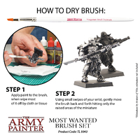 Army Painter Most Wanted Brush Set image