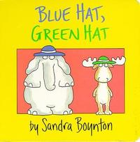 Blue Hat, Green Hat by Sandra Boynton image