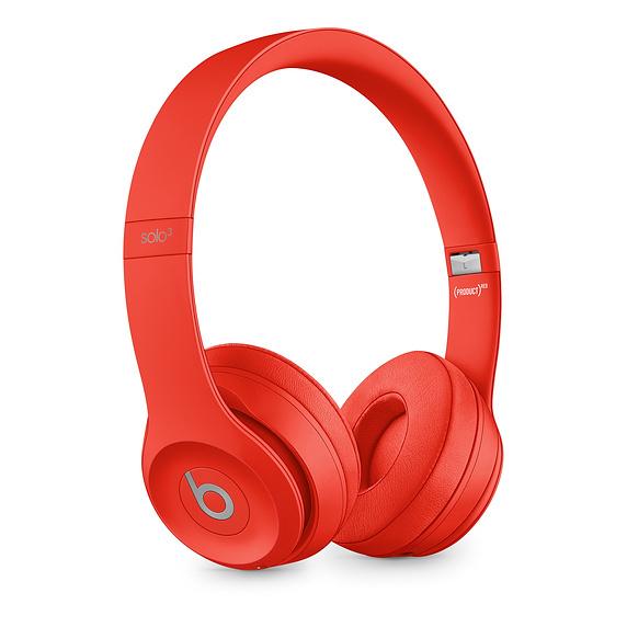 Beats: Solo3 Wireless Headphones - Red