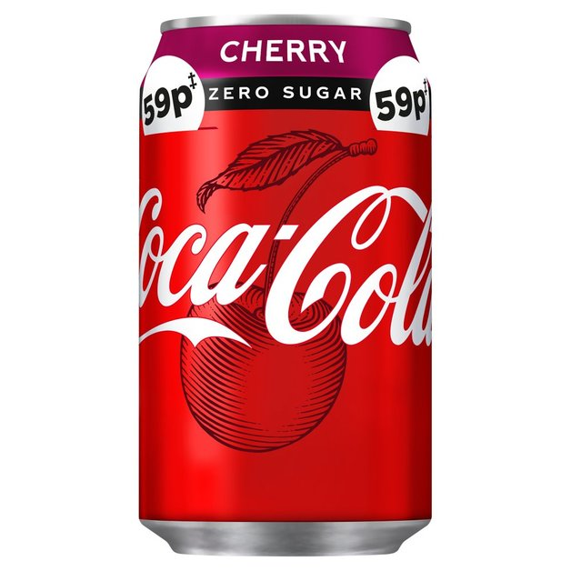 Coke Zero Cherry 330ml 24pk
