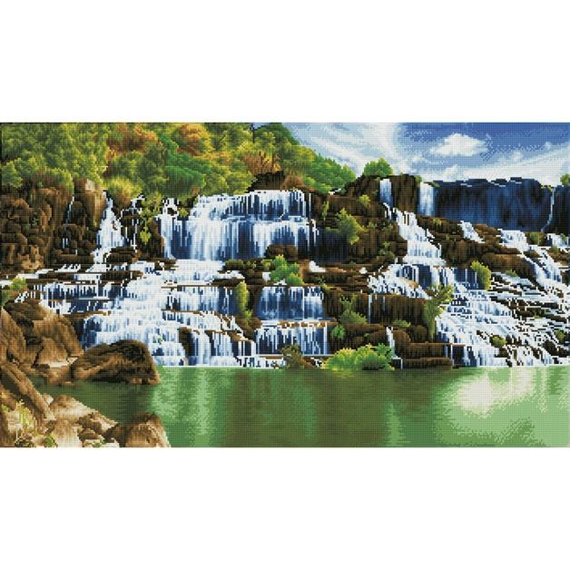 Diamond Dotz: Facet Art Kit - Pongour Waterfall (Advanced)