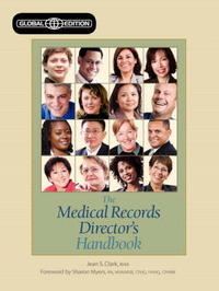 The Medical Records Director's Handbook by Jean S. Clark image