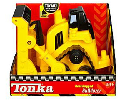 Tonka Real Rugged Bulldozer