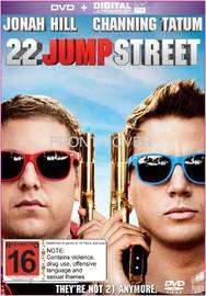 22 Jump Street on DVD