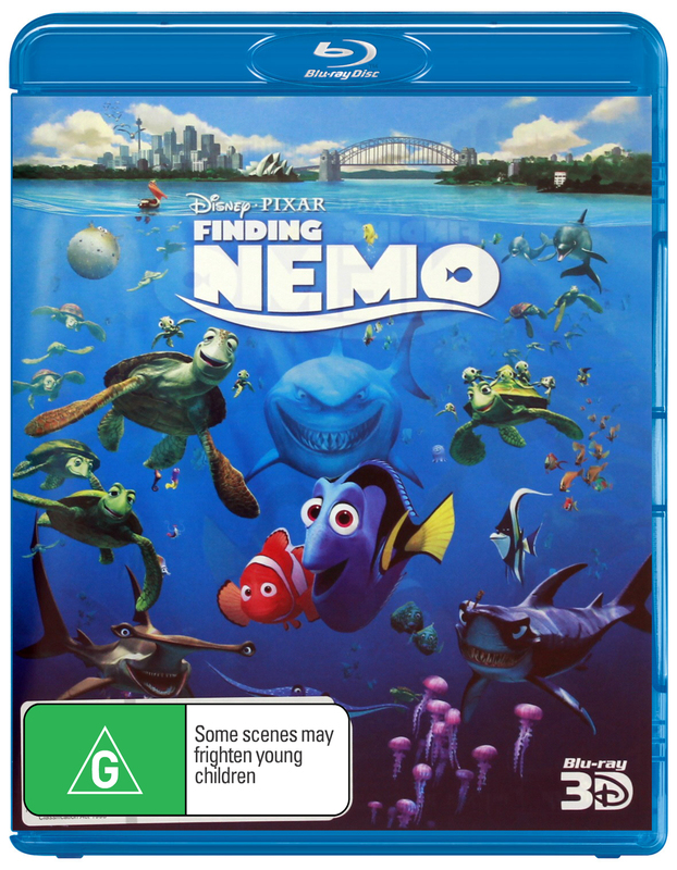 Finding Nemo on Blu-ray, 3D Blu-ray