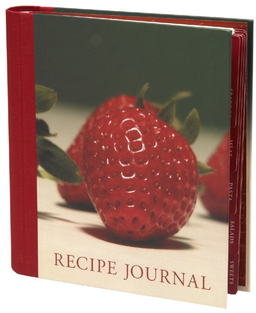 Recipe Journal: Strawberry (Small) by New Holland Publishers