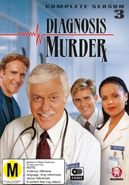 Diagnosis Murder: Season 3 on DVD