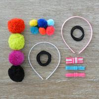 Seedling: Pom Pom Hair Accessories