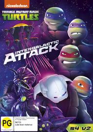 Teenage Mutant Ninja Turtles - Intergalactic Attack on DVD