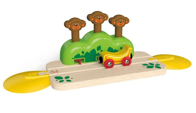 Hape: Monkey Pop Up Track