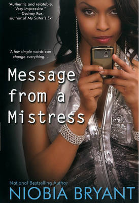 Message From A Mistress by Niobia Bryant image