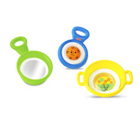 Fisher Price Brilliant Basics Stack & Nest Pots & Pans