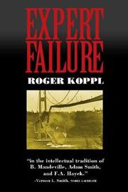 Expert Failure by Roger Koppl