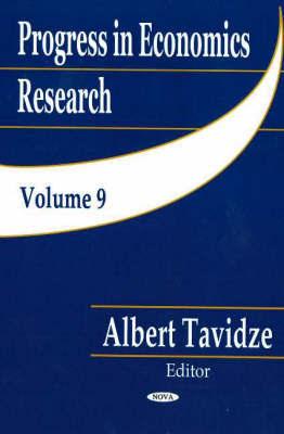 Progress in Economics Research, Volume 9 image