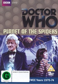 Doctor Who: Planet of the Spiders on DVD