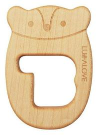 Lullalove: Mr B Natural Maple Wood Teether