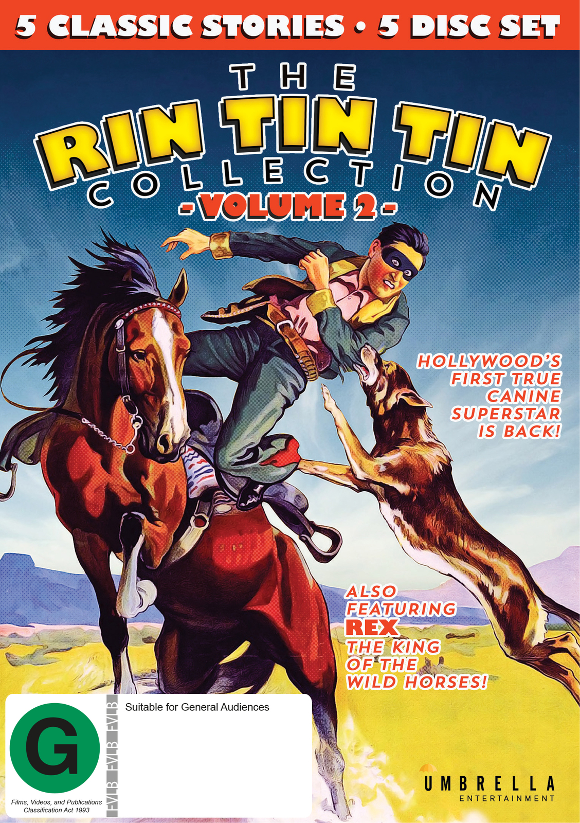 Rin Tin Tin Collection: Volume 2 on DVD image