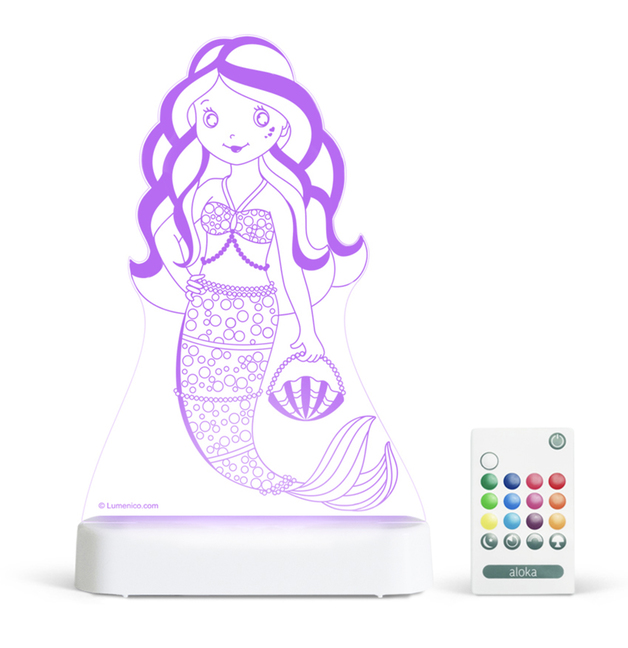 Aloka: Night Light - Mermaid