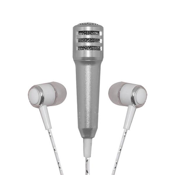 Mayhem My Karaoke Mic Silver