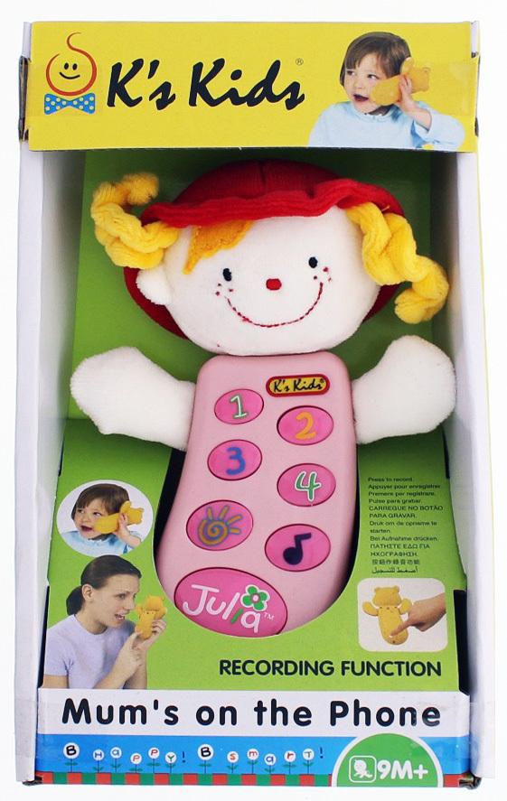 K's Kids - Mum's On The Phone Activity Toy (Julia)