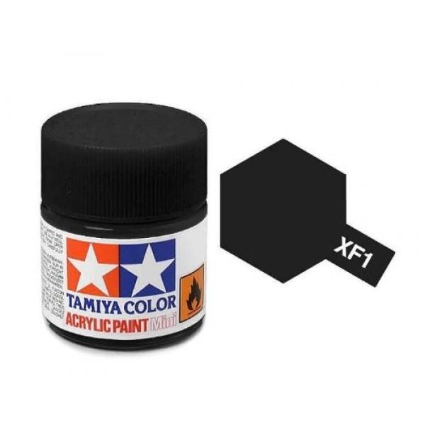 Tamiya Acrylic: Flat Black (XF1)