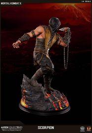 """Mortal Kombat X: Scorpion - 21"""" Statue image"""