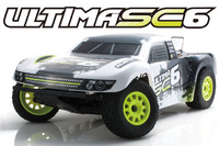 Kyosho EP ULTIMA SC6 RC 1/10 Truck Readyset (Black)