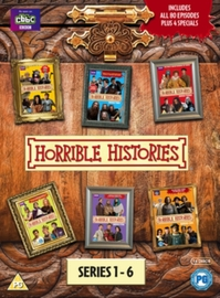 Horrible Histories Series 1-6 on DVD