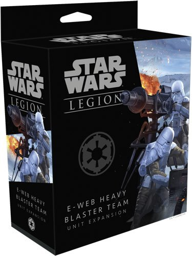 Star Wars Legion: E-Web Heavy Blaster Team Unit Expansion