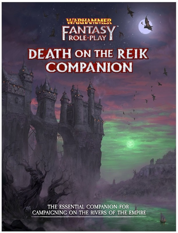 Warhammer: Fantasy RPG Enemy Within - Vol. 2: Death on The Reik Companion